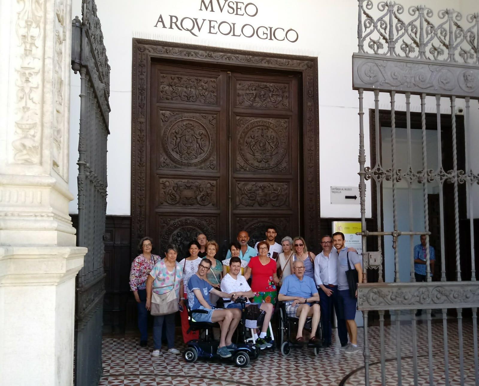 Ataxia Sevilla Visita Museo, Mayo 2019-1
