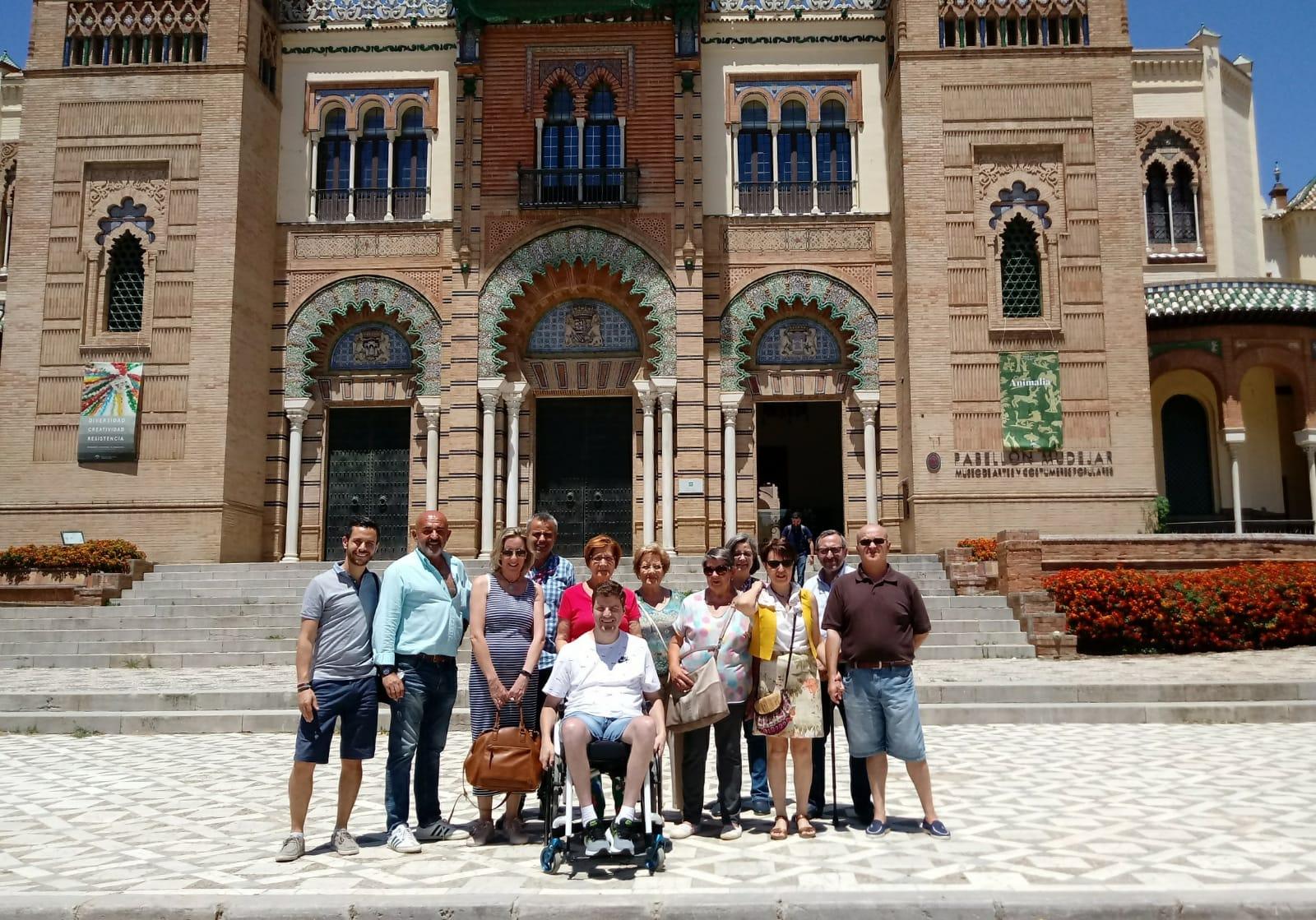 Ataxia Sevilla Visita Museo, Mayo 2019-2